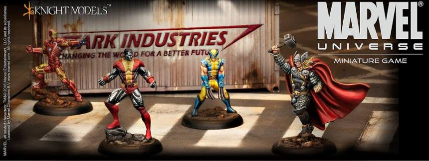 Marvel Universe the Miniature Game