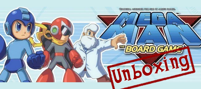 Unboxing: Mega Man: The Board Game Kickstarter Edition