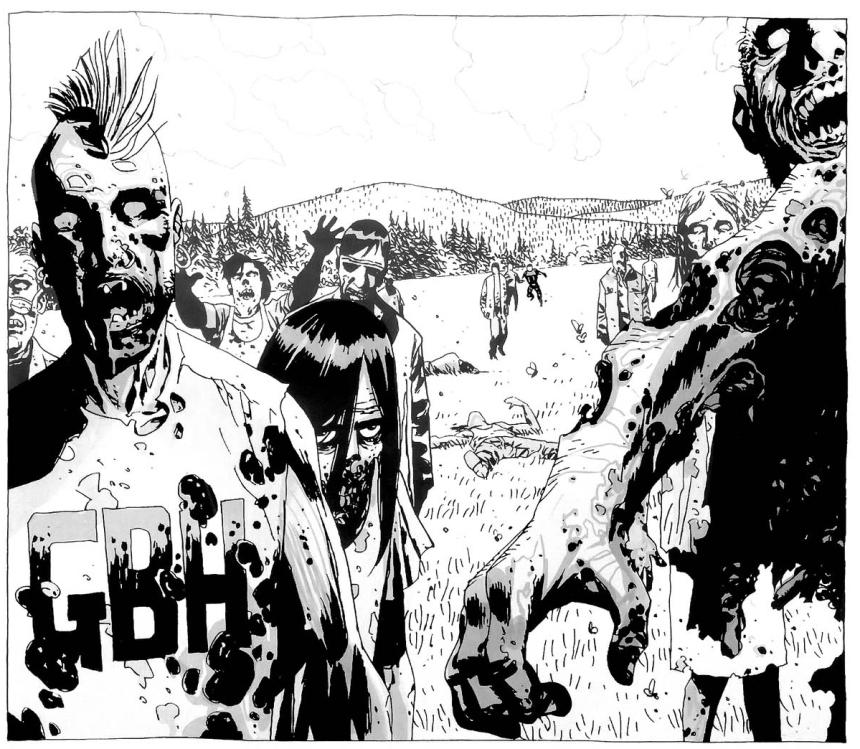 Mohawk-Zombie