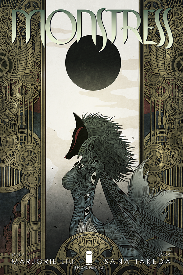 Monstress #2 Second Printing