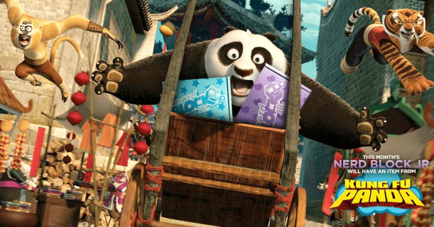 Nerd Block Jr Kung Fu Panda 3