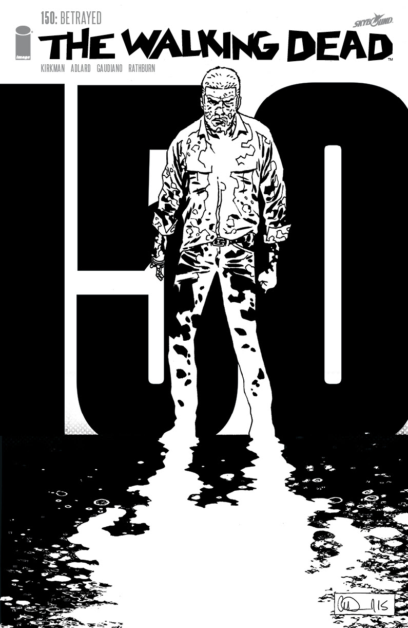 The Walking Dead #150 1 1000 variant