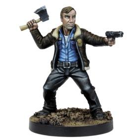 The Walking Dead All Out War Miniatures Game Rick Grimes