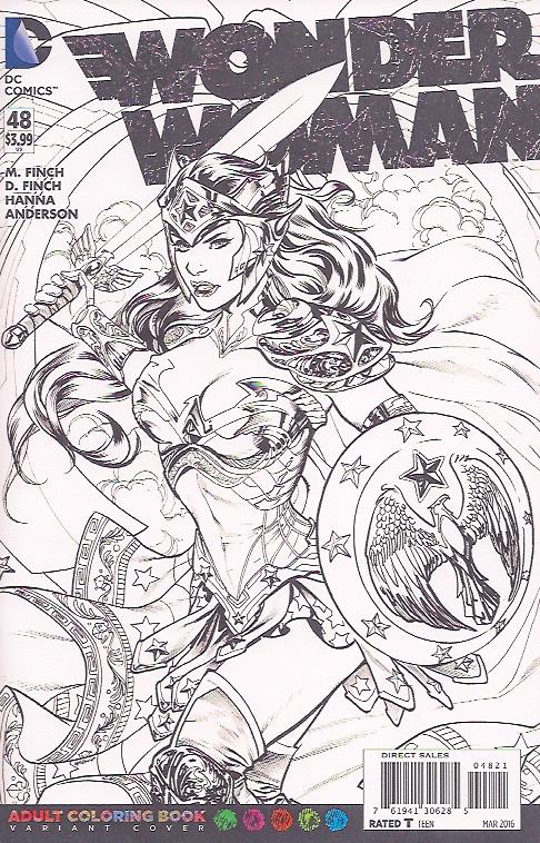 Adult comic book art