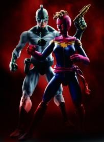 3.75 inch Comic Pakcs wave 2 - Cosmic Marvels