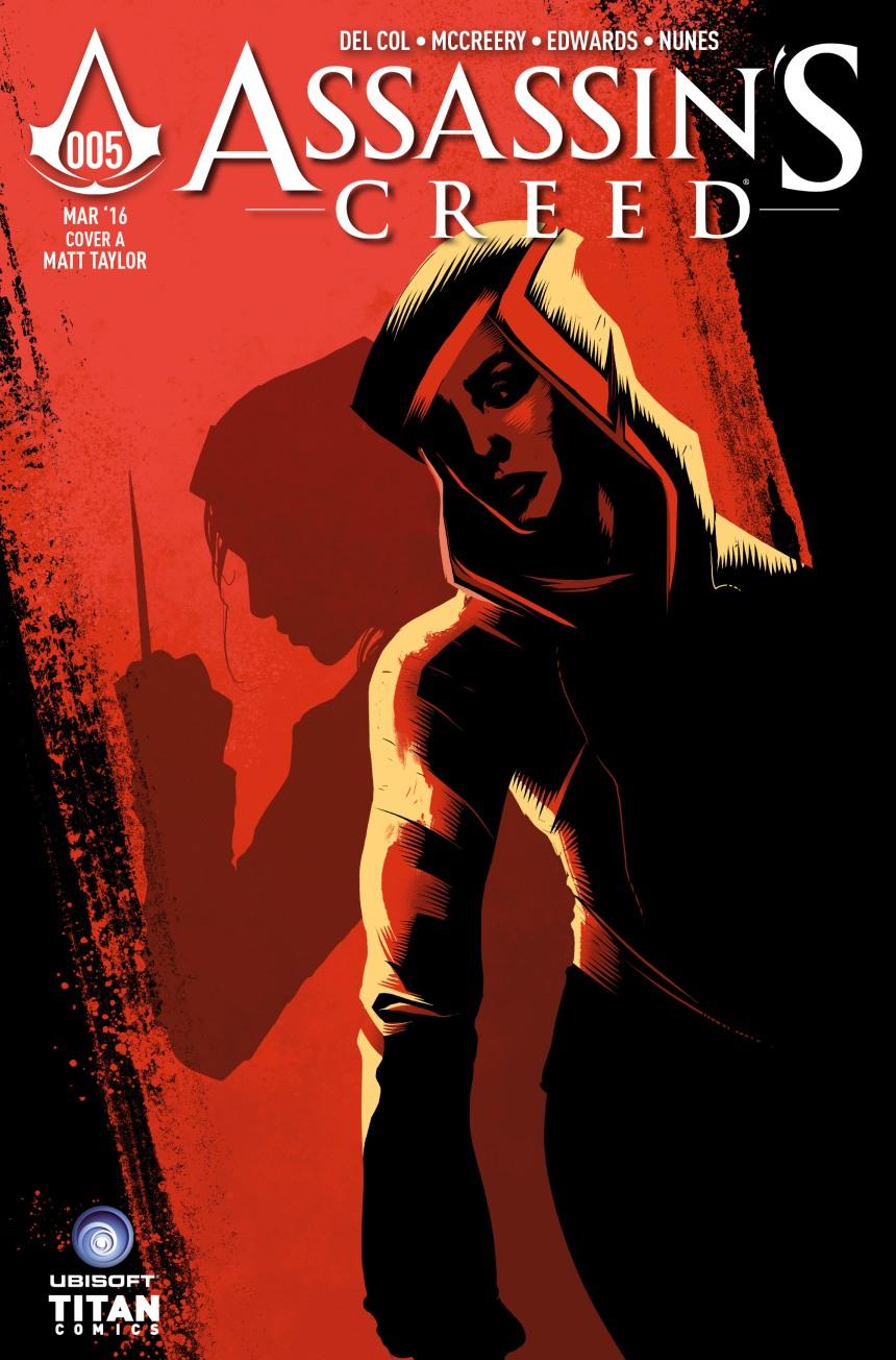AC #5 Cover A by Matt Taylor