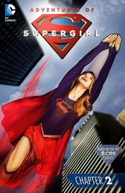 adventures of supergirl #2 cover