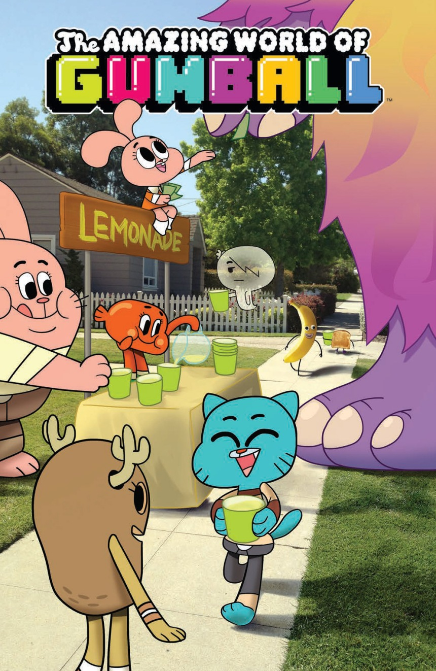 The amazing world of gumball porn