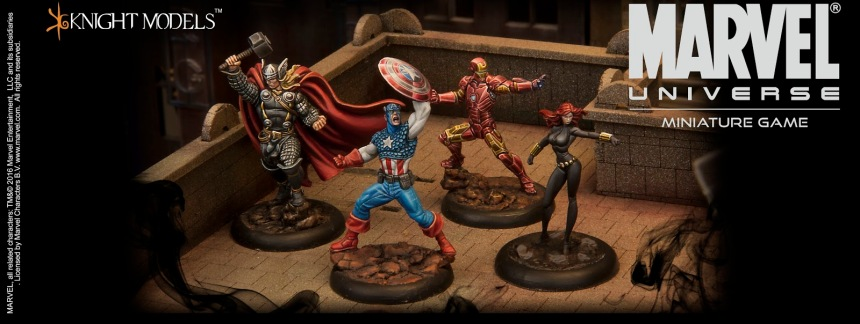 Avengers Marvel Universe Miniature Game