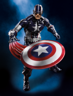 Captain America 6 Inch wave 3 Secret War Cap