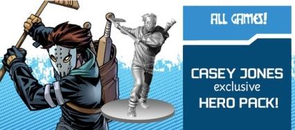 Casey Jones Exclusive Hero Pack