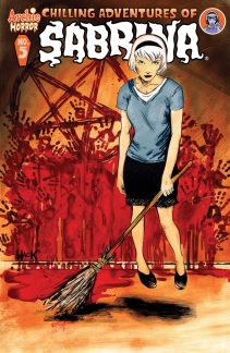 CHILLING ADVENTURES OF SABRINA #5 Cover by Robert Hack