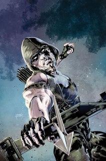 Green-Arrow-#52-variant-cover-by-Szymon-Kudranski
