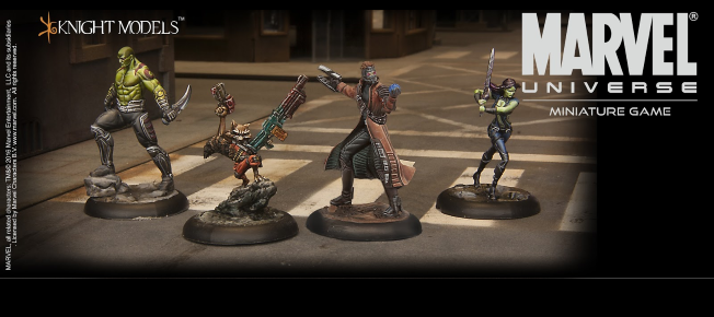 guardians of the galaxy marvel universe miniature game featured