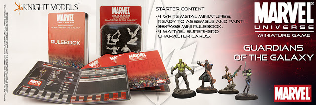 Marvel Universe Minaiture Game Guardians of the Galaxy