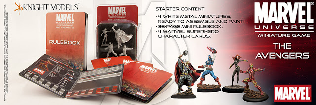 Marvel Universe Minaiture Game  The Avengers