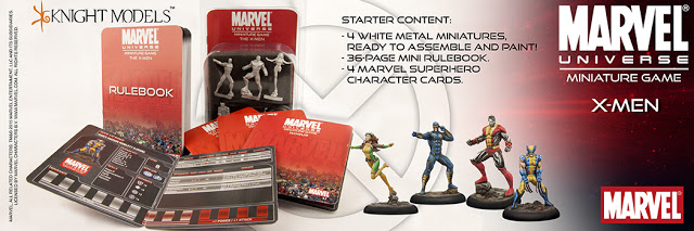 Marvel Universe Minaiture Game X-Men