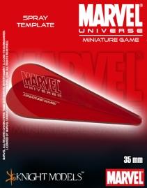 MARVEL UNIVERSE SPRAY TEMPLATE
