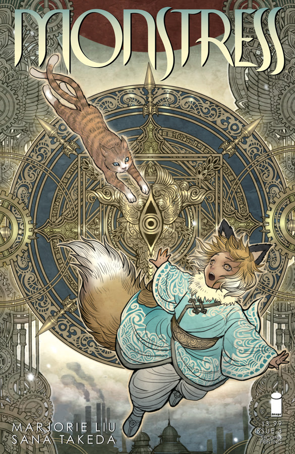 Monstress #3 2nd printing