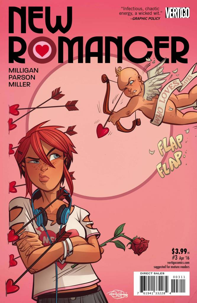 New Romancer #3 cover