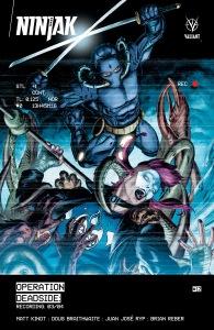 Ninjak 12 cover