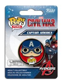 Pop! Pins Captain America - Civil War 1
