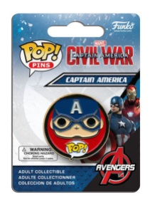 Pop! Pins Captain America - Civil War 1
