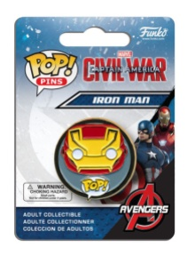Pop! Pins Captain America - Civil War 3