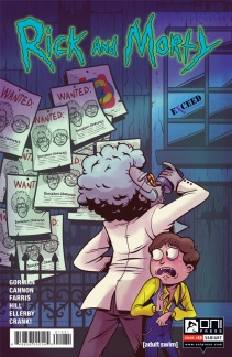 Rick and Morty #10 Exceed Exclusives variant illustrated by Mady G
