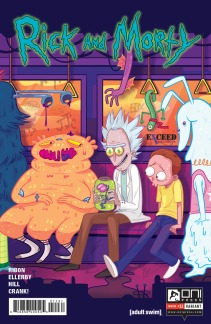 Rick and Morty #11 Exceed Exclusives variant illustrated by Mady G.