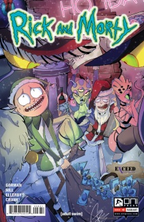 Rick and Morty #8 Exceed Exclusives variant illustrated by Giahna Pantano