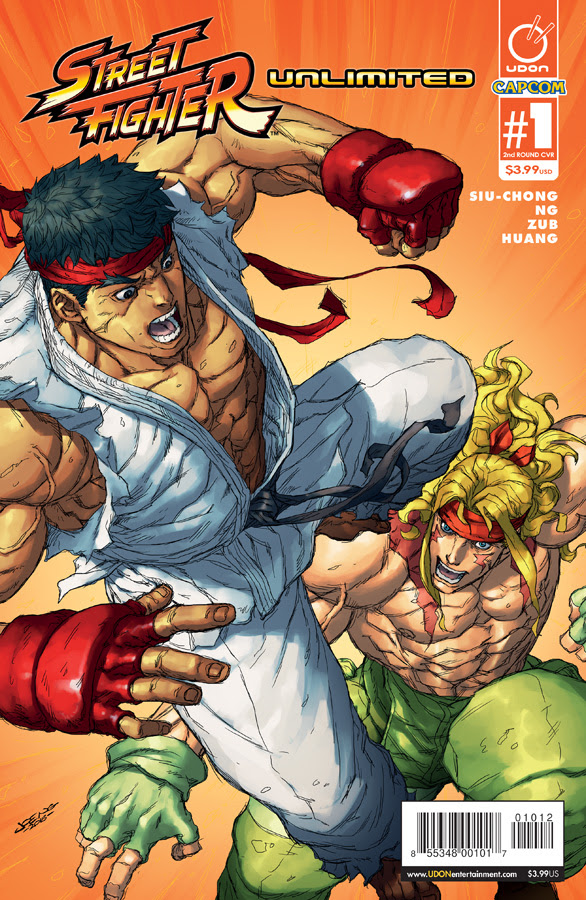 Street Fighter Unlimited #1 2nd Printing