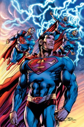 Superman The Coming of the Supermen #1 Cover