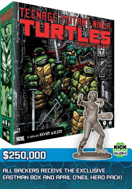 Teenage Mutant Ninja Turtles Shadows of the Past April Hero Pack