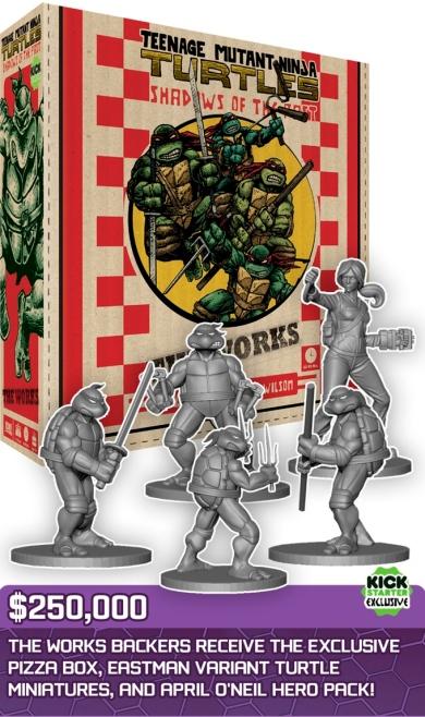 Teenage Mutant Ninja Turtles Shadows of the Past Eastman Variant