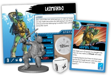 Teenage Mutant Ninja Turtles Shadows of the Past Leonardo