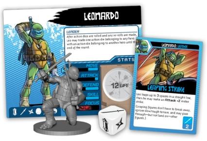 Teenage Mutant Ninja Turtles Shadows of the Past Leonardo