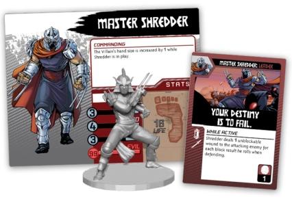 Teenage Mutant Ninja Turtles Shadows of the Past Shredder