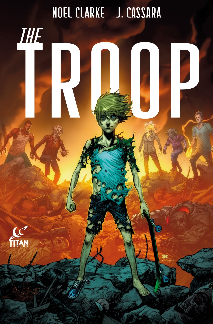 THE TROOP #3 COVER A by Josh Cassara