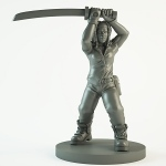 The Walking Dead All Out War Miniature Game Michonne