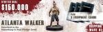 The Walking Dead All Out War Miniature Game Punk Atlanta Walker