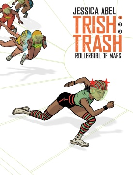 Trish Trash Roller Girl of Mars