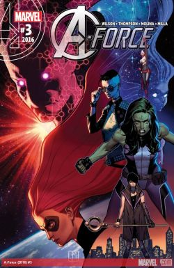 A-Force #3 Cover