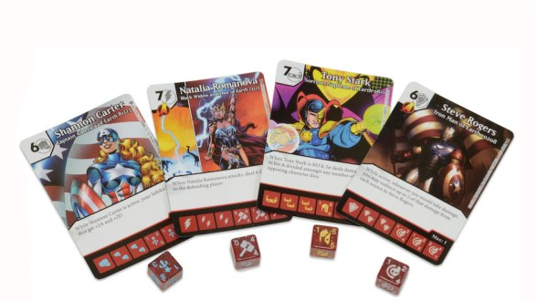 Civil War Dice Masters Ultra Rares