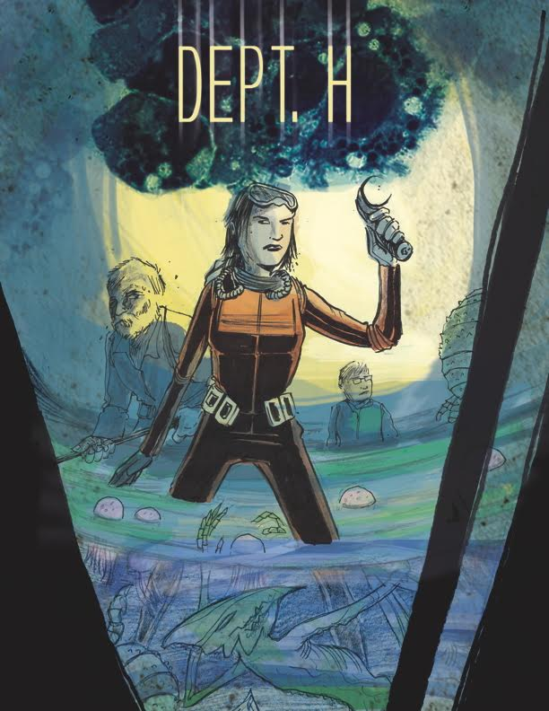 Dept H #1 Cover