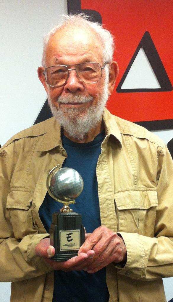 Jaffee with Eisner Award 5-5-13