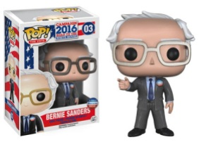 Pop! The Vote! Bernie Sanders