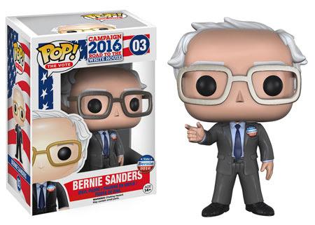 Pop! The Vote! Bernie Sanders