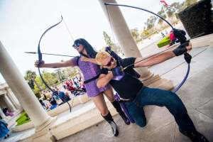 Patrick Healy and Monday Mournings as Hawkeye