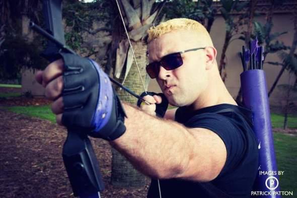 Patrick Healy as Hawkeye